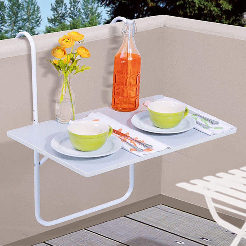 Tavolo balcone tavolino da appendere terrazzo pieghevole for Salotto per terrazzo