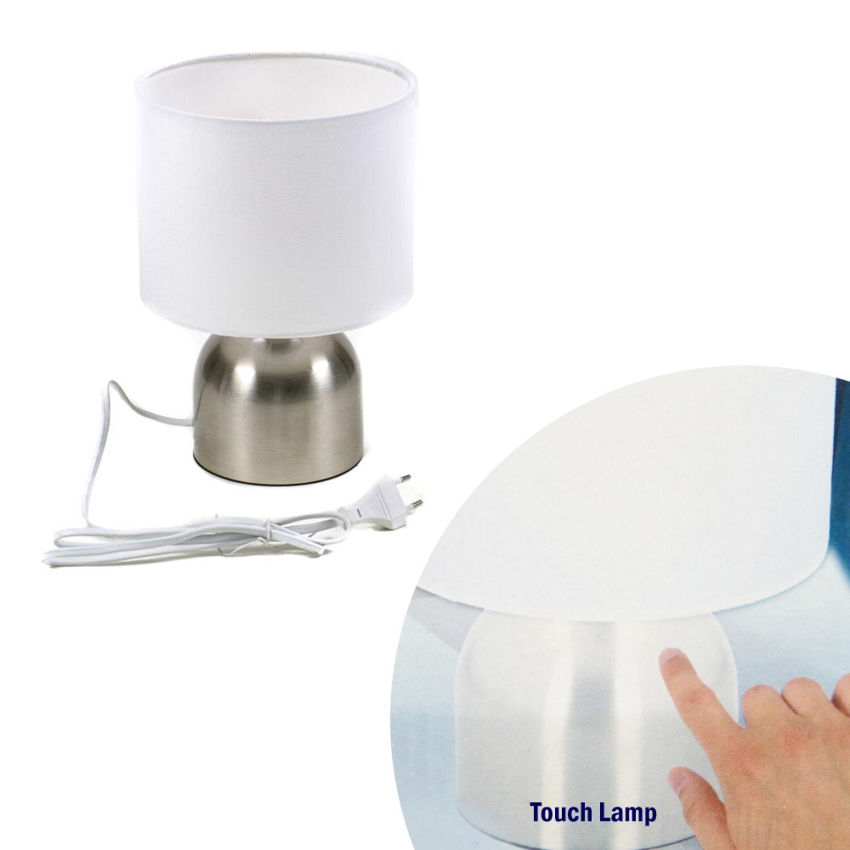 Tischlampe Nachtischleuchte Berührungssensor Touch 25W E14 Fassung