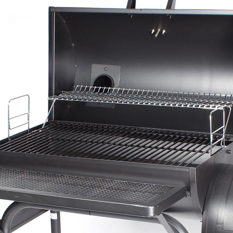 HOLZKOHLEGRILL XL GRILLWAGEN BBQ Smoker Holzkohle Barbecue