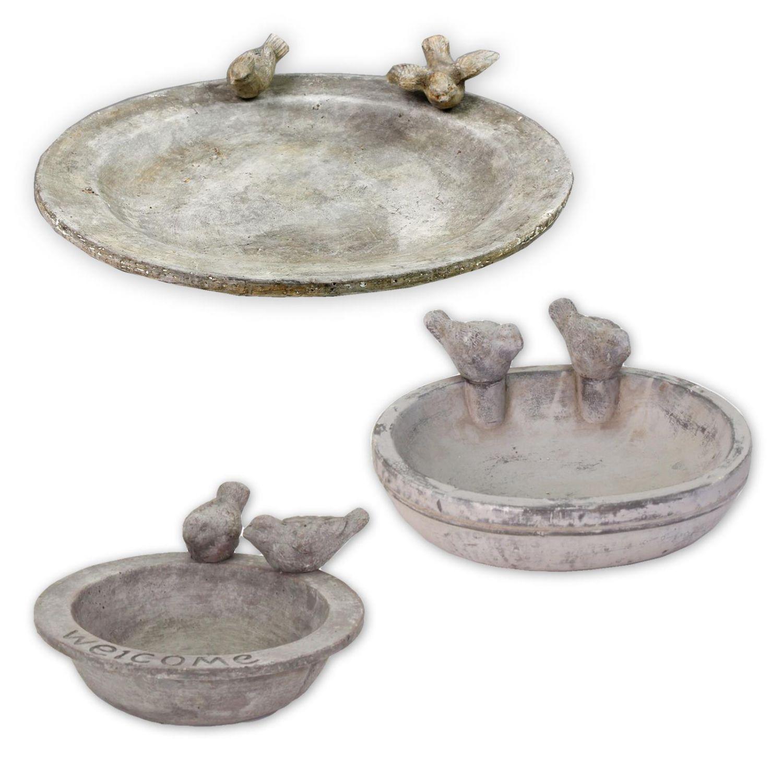 Détails sur Abreuvoir Piscine pour Oiseaux Décoration de Jardin Bain  D\'Oiseau Céramique
