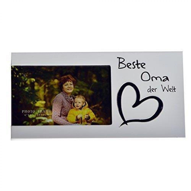 1x Bilderrahmen weiß neu Weihnachtsgeschenk Fotorahmen Valentinstag ...
