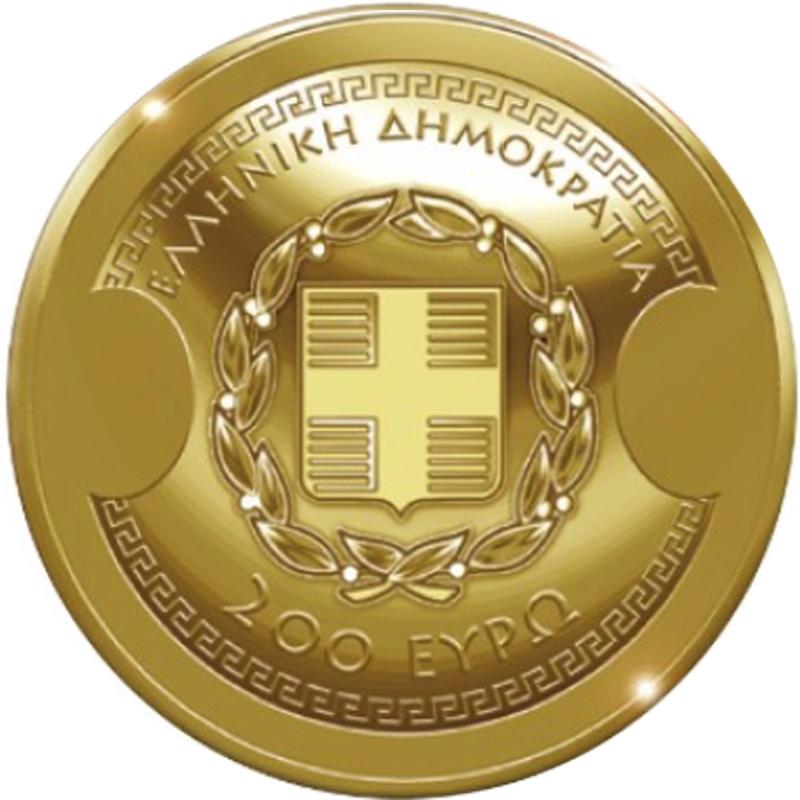 Grecia 200 Oro Pp Thukydides Estuche Certificado Edición 750 Piezas 3