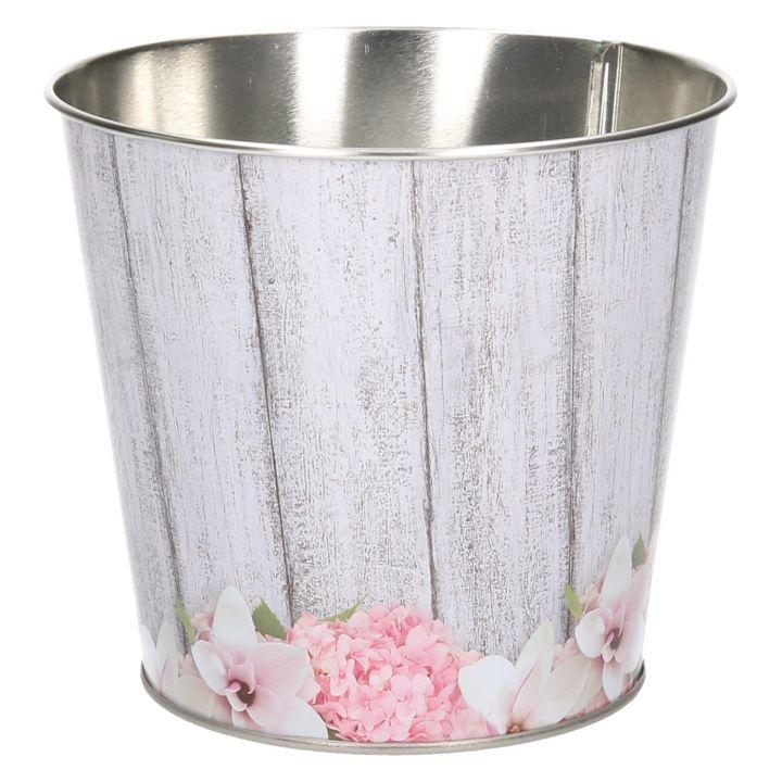 Übertopf verzinkt Ø12cm Hortensie/Magnolie Blumentopf Pflanzkübel ...