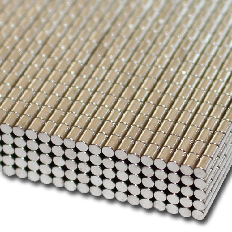 Magnete NEODYM Magnet  Ø5x3 mm NdFeB N50 Modellbau Spur H0 Pinnwand 50 Stk
