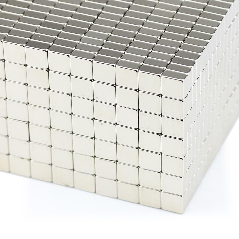 2 bis 100 Stück Neodym Scheibenmagnete 10x5 mm gut für Magnettafel Magnetwand