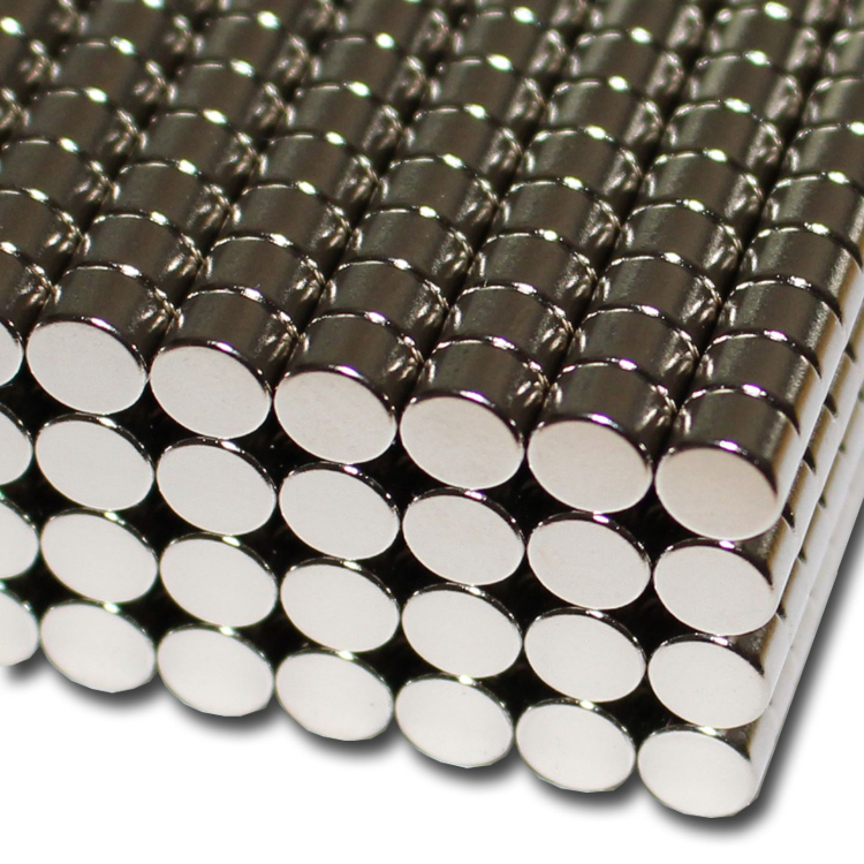 10 Neodym Ringmagnete 10 x3,4 x3 mm N42 Nickel Senkung Süd Power Magnet Ring