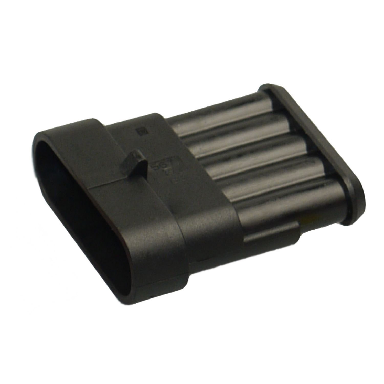 AMP Superseal 2-polig 0,50² 1500mm Stift Steckverbinder Stecker KFZ LKW Elektrik