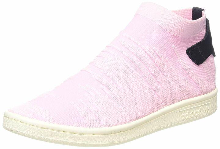 Adidas Originals Stan Smith Sock Primeknit Damen Schuhe Rosa