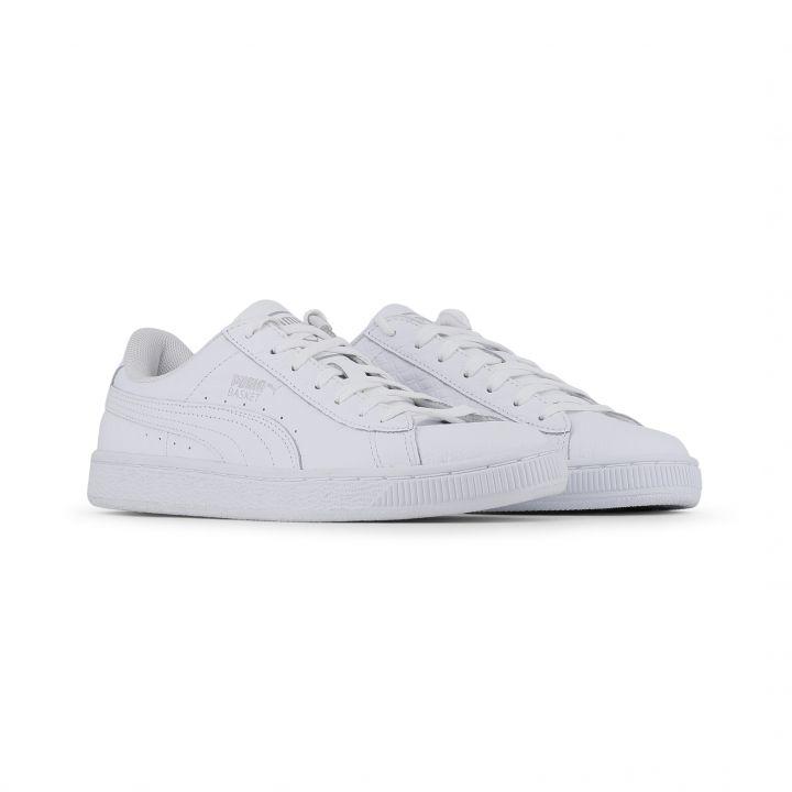 Puma Unisex Damen Herren Schuhe Sneaker Turnschuhe Weiß Leder EUR 36 ... 4825ed9253