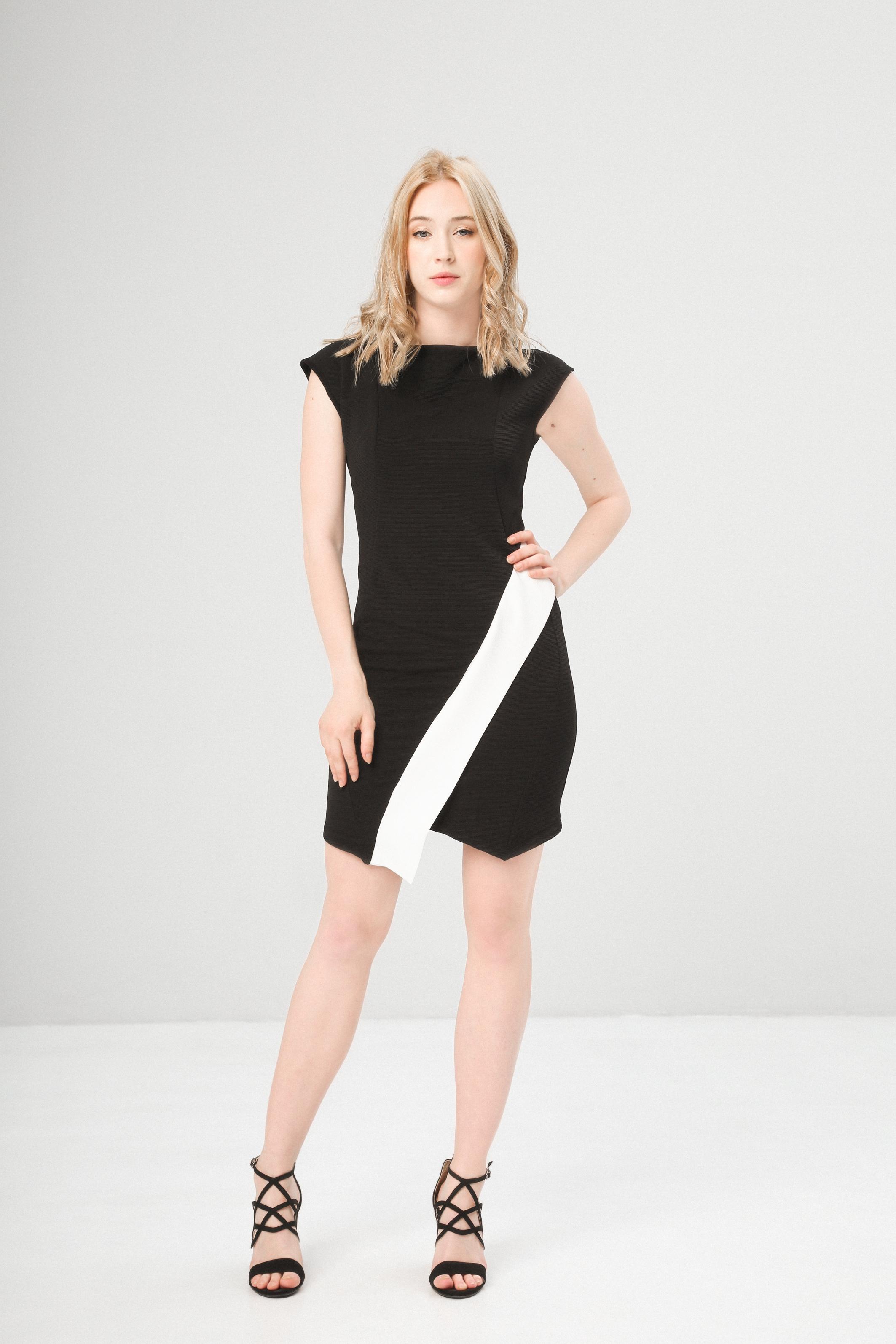 Fontana 2.0 DULINA Damen Kleid Cocktailkleid Sommerkleid Schwarz | eBay