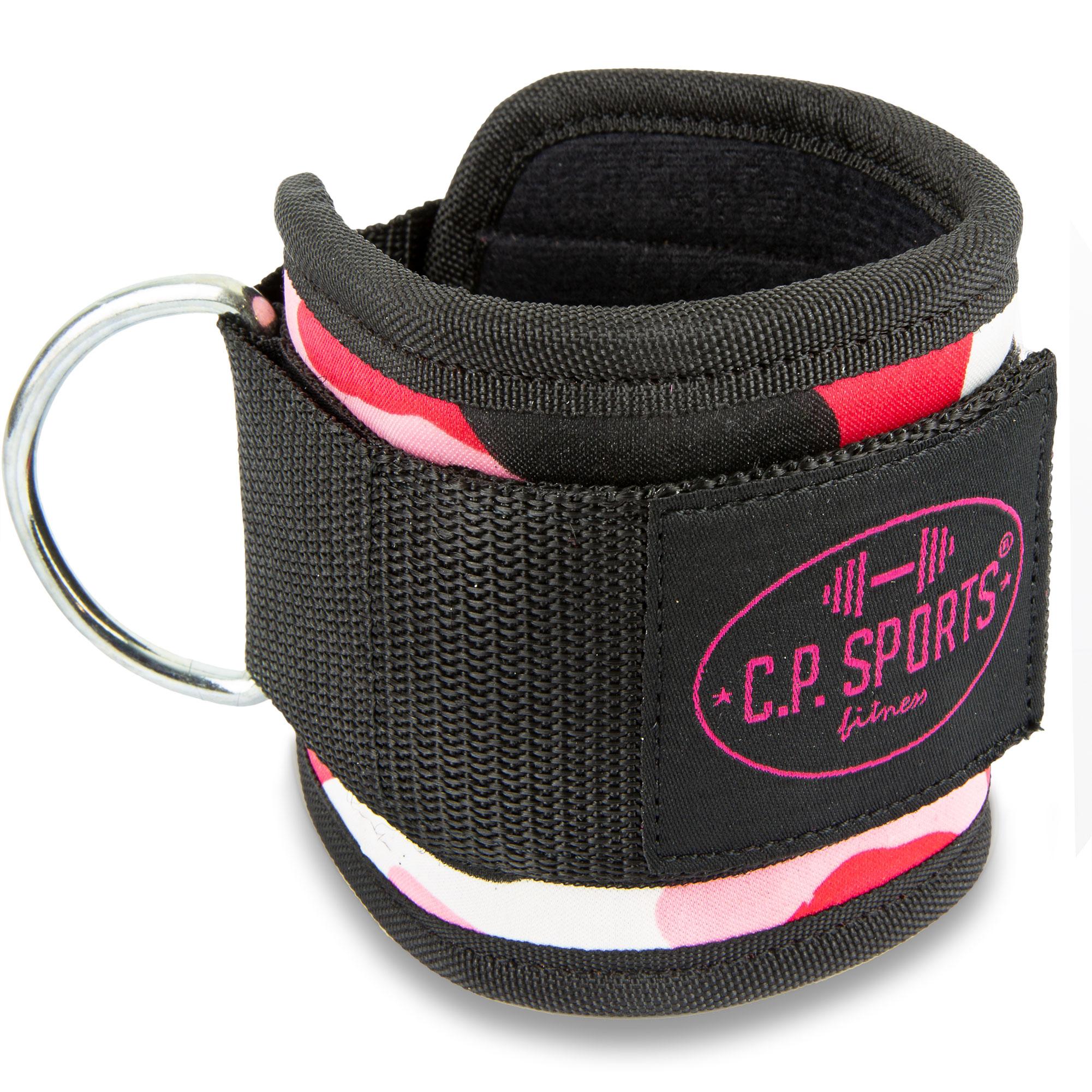 SPORTS Premium Fußschlaufe Paar Handschlauf Fuß-Manschette Zughilfe Fitness C.P