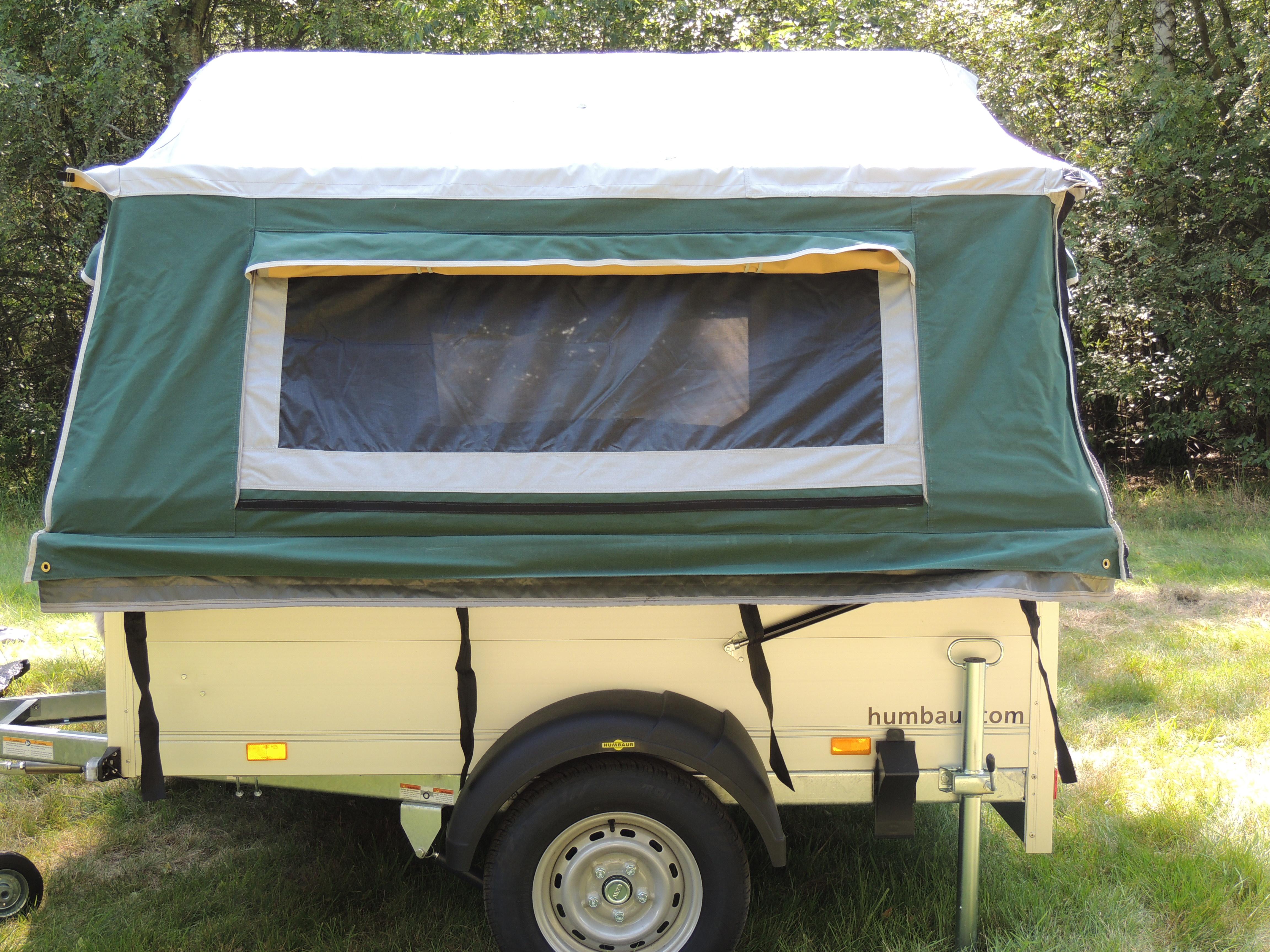 miniatuur 5 - Zeltanhänger Tender XL der Faltcaravan von NB outdoor Campingtrailer mit Komfort