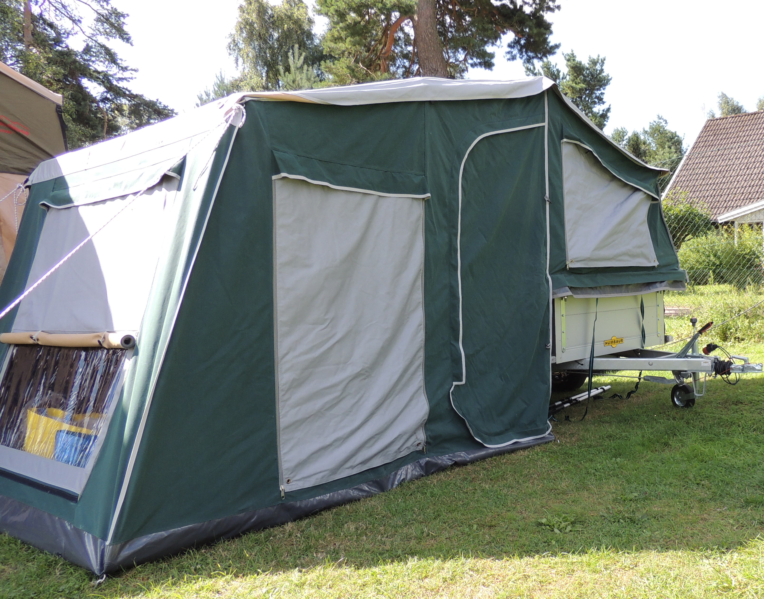 miniatuur 3 - Zeltanhänger Tender XL der Faltcaravan von NB outdoor Campingtrailer mit Komfort
