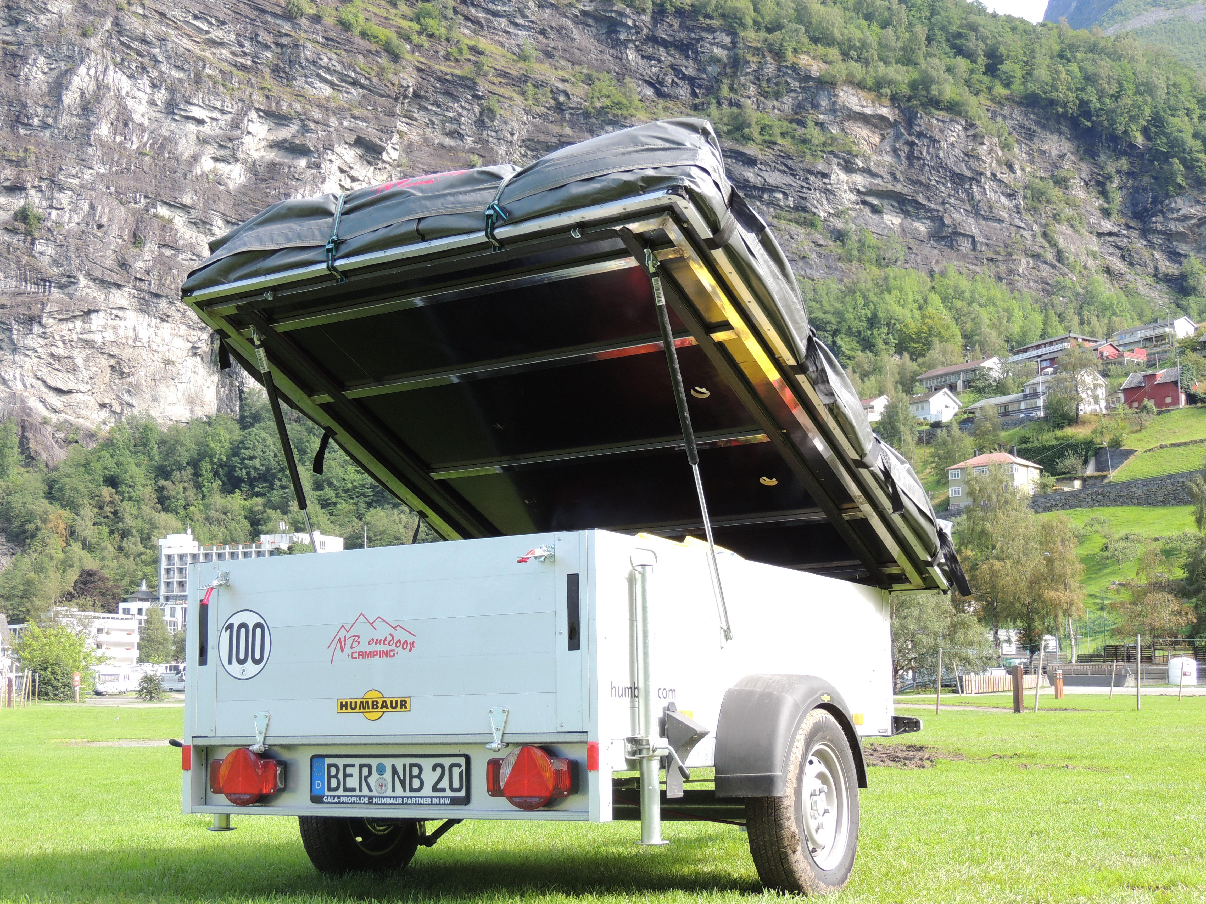 miniatuur 4 - Zeltanhänger Tender XL der Faltcaravan von NB outdoor Campingtrailer mit Komfort