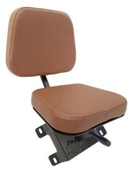 Beifahrersitz PVC Schwarz Schleppersitz Traktorsitz  Notsitz klappsitz universal