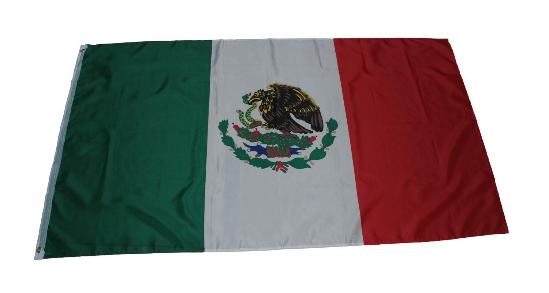 Fahne Mexiko mit Frau von Guadalupe Flagge  Hissflagge 90x150cm