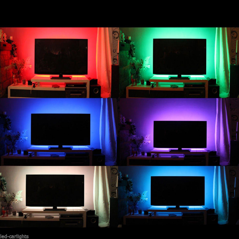 Led Hintergrundbeleuchtung Tv Nachrüsten : tv hintergrundbeleuchtung led rgb grundig panasonic philips dewoo matsui ebay ~ Watch28wear.com Haus und Dekorationen