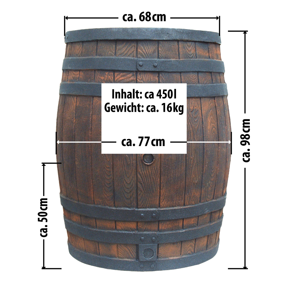 thumbnail 9 - Rain ton Rain Barrel Water Barrel Rain Tank Rainwater Storage Garden Barrel Rain Tank
