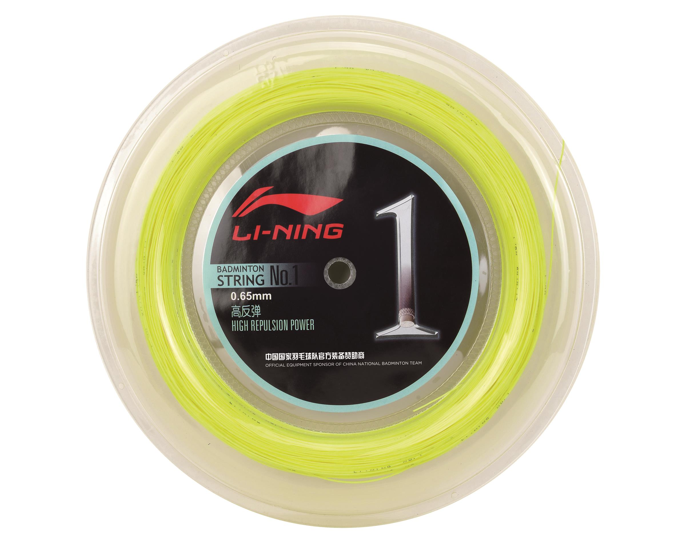 Li-Ning High-End rolle Bespannung Saite No.1 Badmintonstring 200m reel rolle High-End string f8d2b1