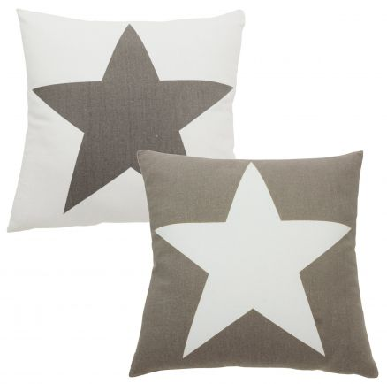 Poduszki Dekoracyjne Kissenhülle Stern Vintage Star Ca 40x40