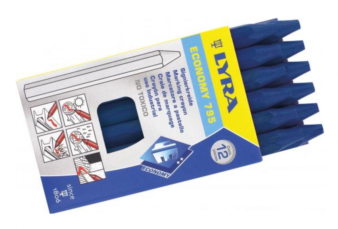 Signierkreide 11 x 110 mm 12 Stück u o Kreidehalter für 11 mm bis Ø 12 mm