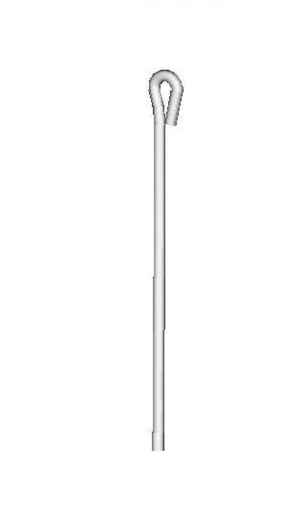 Draht mit Öse Ösendraht Trockenbau 750 mm Abhängedraht 50 Stück