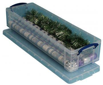 really useful box aufbewahrungsbox ohne eins tze 22 liter f r geschenkpapier ebay