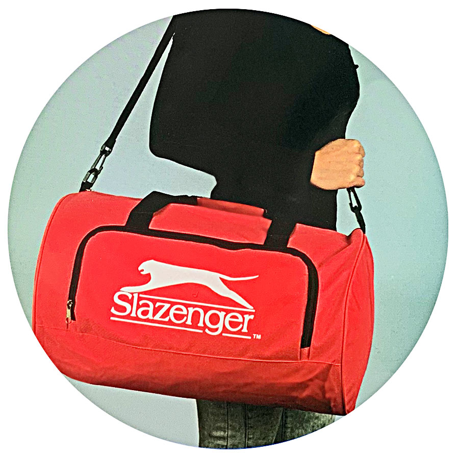 85b0a5132f39e Slazenger Reisetasche Sporttasche Schultertasche Trainingstasche ...
