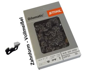 40cm Stihl Hartmetall Kette für Dolmar ES-160 Motorsäge Sägekette 3//8 1,3