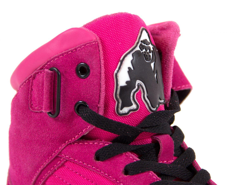 Details about Gorilla Wear Damen Schuhe Pink Rosa Fitness Schuhe Frauen High Top Gym Sport