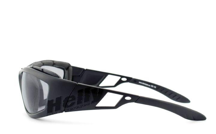 gepolstert selbsttönend Bikerbrille Helly Bikereyes vision 3