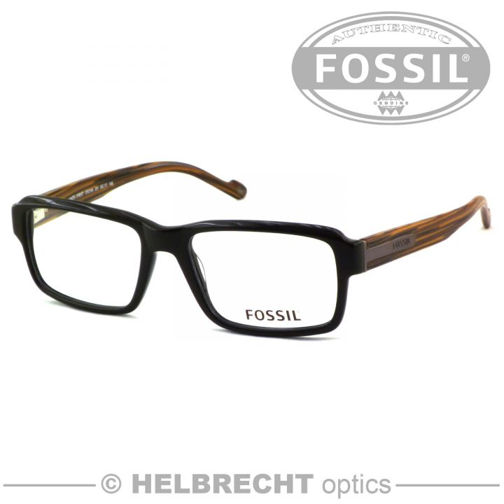 Fossil Komplettbrille OF2106-201 in Sehstärke, Brille / Brillengestell