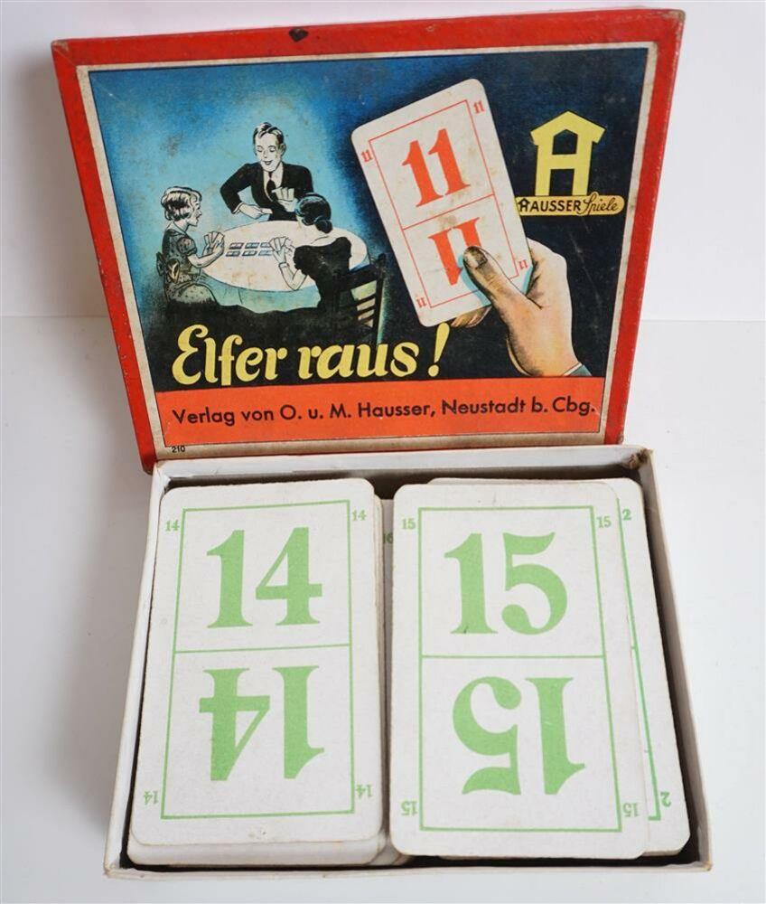 *~* Päckchen Elfer raus Karten  *~*