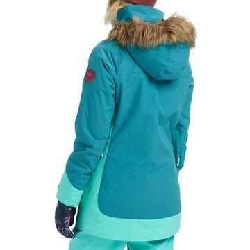 Burton Lelah Jacke BlauGrün Damen Ski Snowboard *SALE* NEU