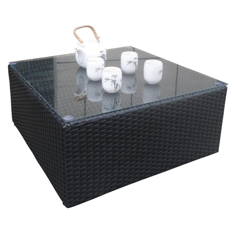 Détails sur Rotin Poly Meubles de Jardin Havanna Mix-Braun Aluminium  Garniture Salon