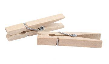 Wascheklammern Mittel 50 Stuck Holzklammern Dekorieren Basteln 4 8