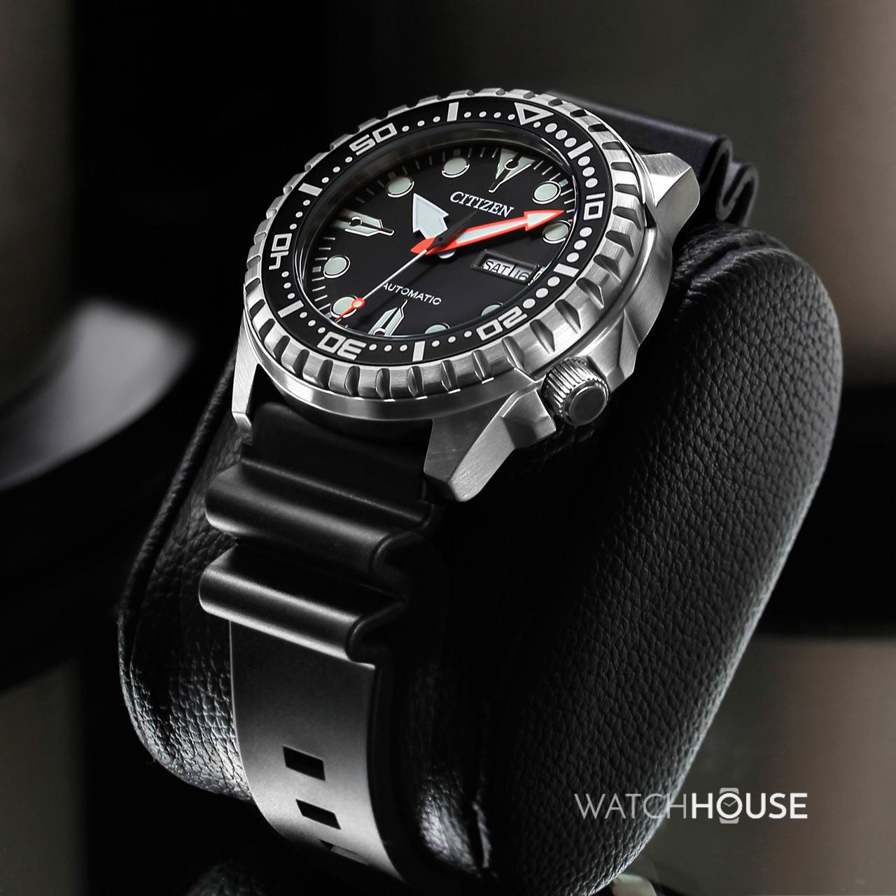 citizen sportuhr nh8380 15ee automatik herren armbanduhr. Black Bedroom Furniture Sets. Home Design Ideas