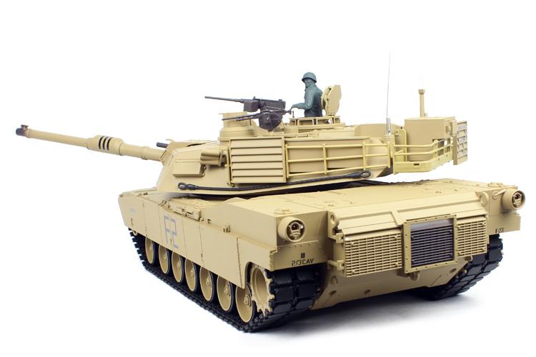 M1a2 Abrams con catene in metallo pro-Edition 6mm BB carri armati deserto 1 16