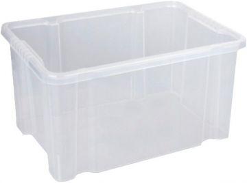 3x 27l Dreh Stapelbox 44 x 35 x 24 Aufbewahrungsbox Box Lagerbox Mulitbox Kiste