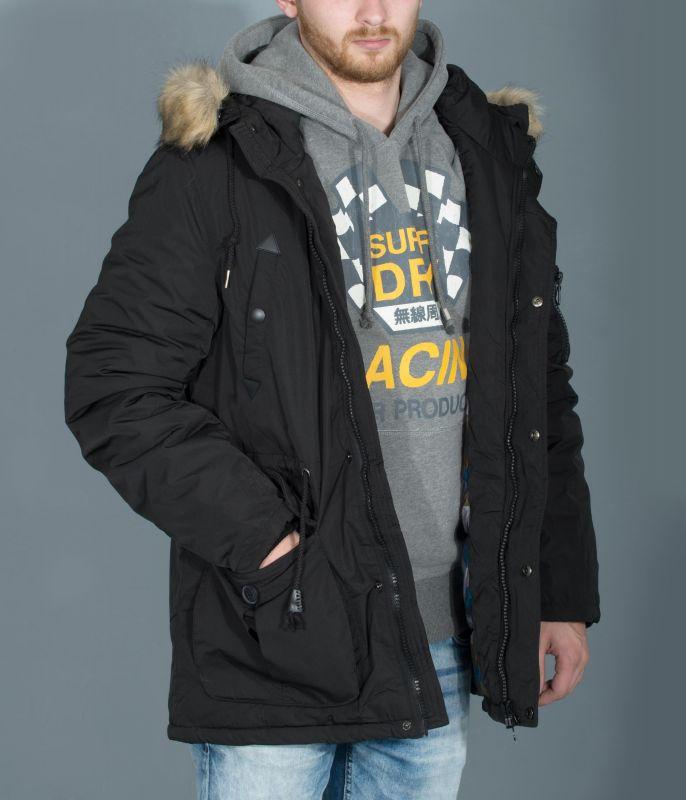 Original Vegan Lemolobz Details Black Coat Fur Betterstylz Show Title Mens Parka About Winter ChefsFaux 0wONmnv8