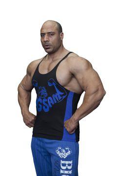 BIG SM EXTREME SPORTSWEAR Herren Muskelshirt Tank-Top Achselshirt Stringer Bodybuilding 2221