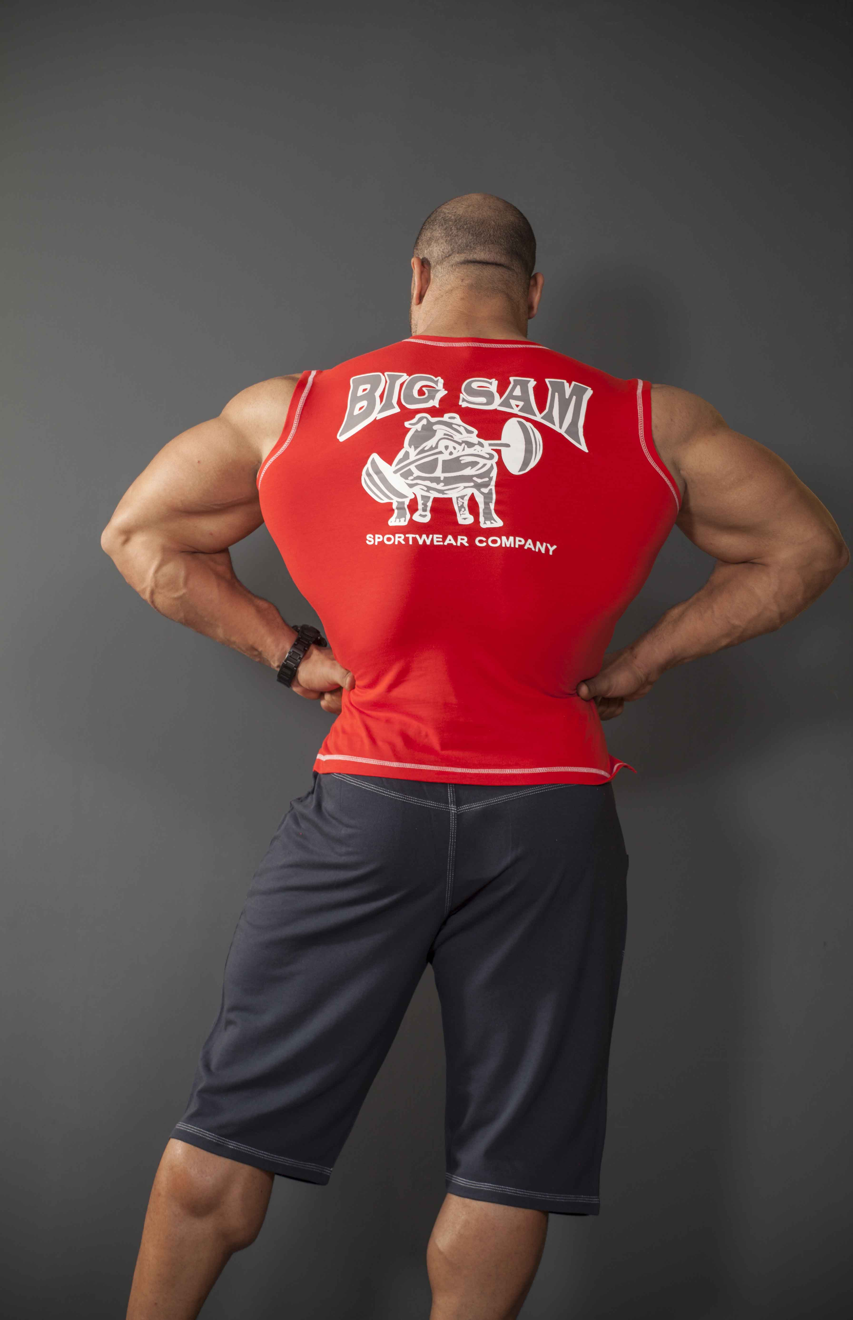 Details about  /BIG SM EXTREME SPORTSWEAR Muscleshirt Tanktop Stringer Bodybuilding 2139