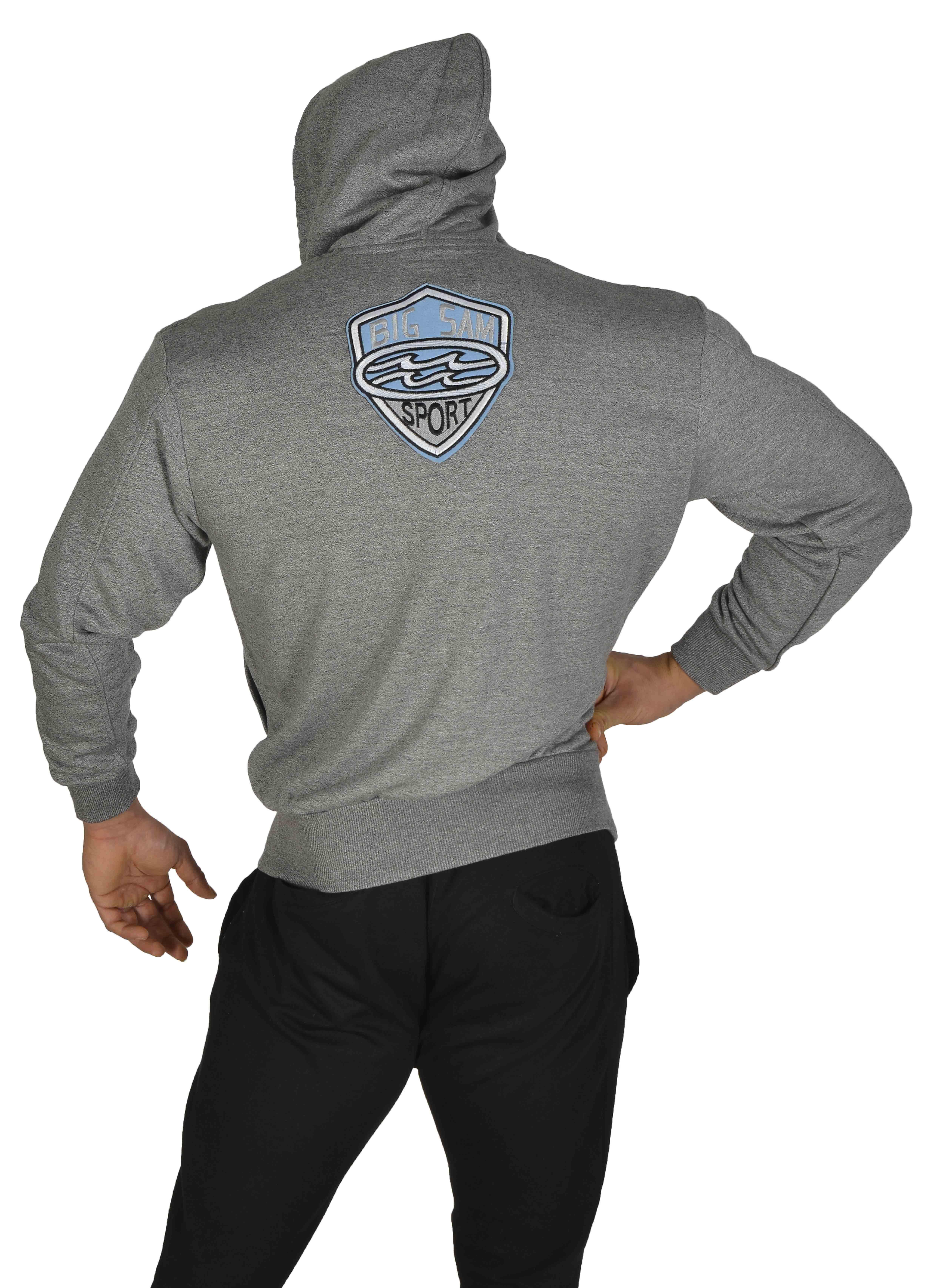 3579 con Sportswear Sm capucha chaqueta Big Extreme sudadera Bodybuilding P8O7xa