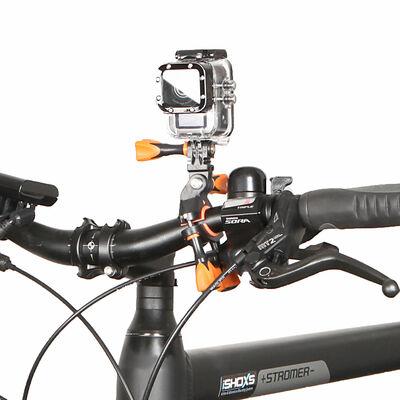 iSHOXS Scuba Starter Set iSaw Full HD Action Cam /& Handstativ Aqua Handle Blau