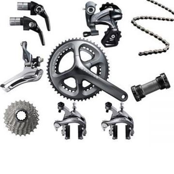 shimano ultegra 2 11s gruppe tria mech 590050 ebay. Black Bedroom Furniture Sets. Home Design Ideas