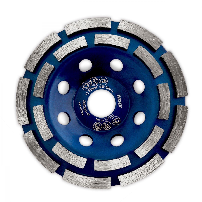 Diamant-Topfschleifer Schleifteller 125mm abrasiv Betonschleifer Winkelschleifer