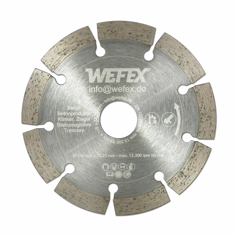 Diamant Trennscheibe 230 mm Bohrung 22,2 mm Beton Mauerwerk für Winkelschleifer