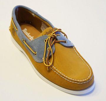 Details zu NEU TIMBERLAND 6503A Schuhe Herren Leder Bootschuhe Boat shoes 2EYE Mokassins