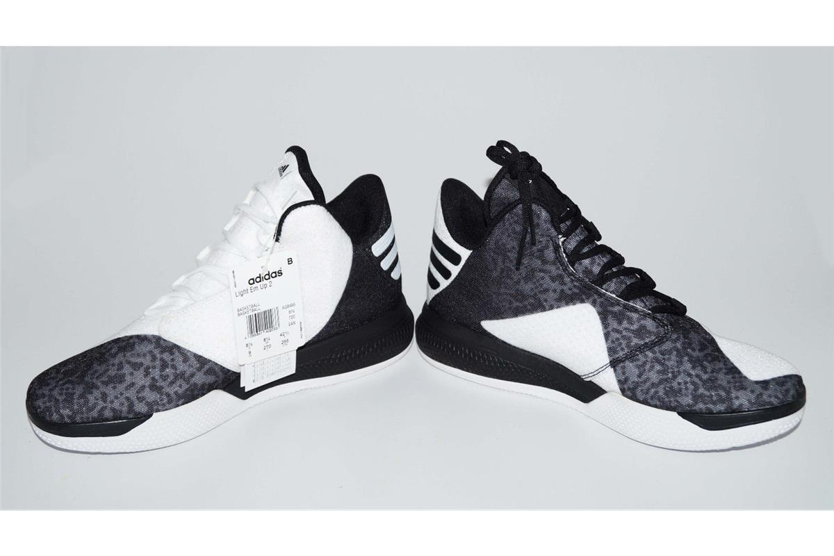 new arrival ade06 89d0b Adidas LIGHT EM UP 2 Retro Herren Schuhe Sneaker Basketballschuhe weiß SALE  5 5 von 7 ...