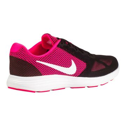 Details zu Nike Revolution 3 Damen Schuhe 819303 600 Turnschuhe Sneakers Schwarz Pink Weiß